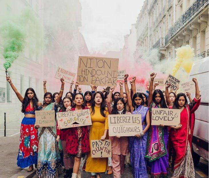 sororasie newsletter féministe asioféminisme culot creative