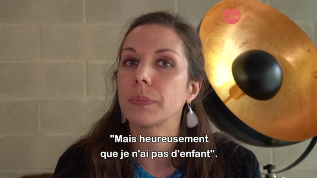 """Chloé Chaudet dit """"heureusement que je n'ai pas d'enfant"""""""